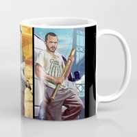gta Mugs featuring Breaking Bad mashup GTA V  by Akyanyme
