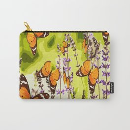 Butterflies and flowers - summery atmosphere in late summer - #pivivikstrm #buyart Carry-All Pouch