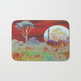 The Planet of the Yellow Flowers 10 Bath Mat