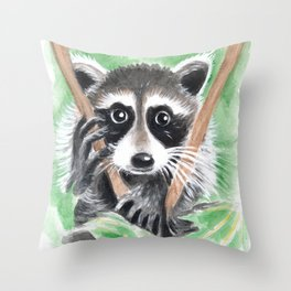 El Bandito Throw Pillow
