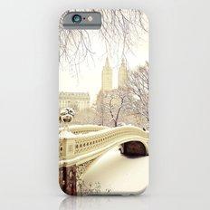New York City Snow Wonderland Slim Case iPhone 6s