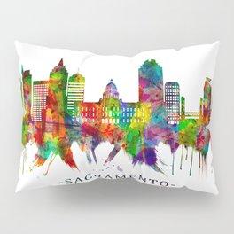 Sacramento California Skyline Pillow Sham