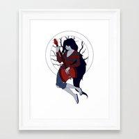 marceline Framed Art Prints featuring Marceline by Crista Gerzevske