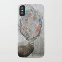 elk iPhone & iPod Cases featuring elk by Emily C Gill