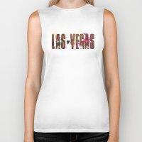 las vegas Biker Tanks featuring Las Vegas by Tonya Doughty