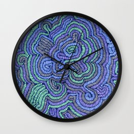 Coils Wall Clock