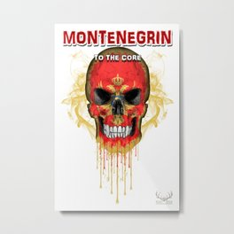 To The Core Collection: Montenegro Metal Print