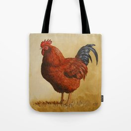Rhode Island Red Rooster Tote Bag
