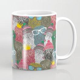 The crowd. Coffee Mug