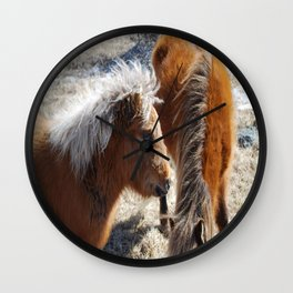 Pretty Pony 2 Wall Clock