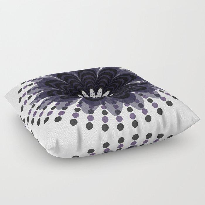 Lilac Mandala Floor Pillow