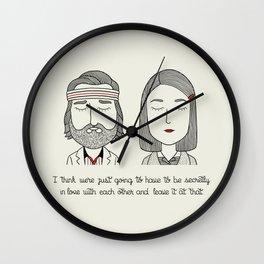 M & R Wall Clock