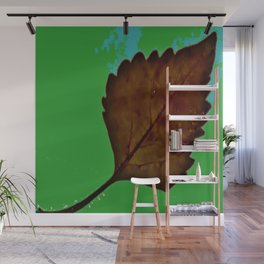 BE LIKE A LEAF #5 Wall Mural