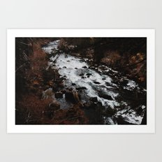 Flowing River Art Print