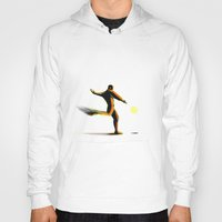 soccer Hoodies featuring Soccer by Enzo Lo Re