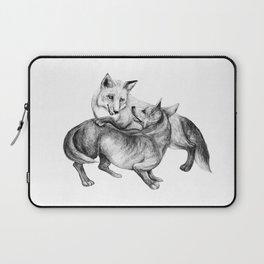 A fox and a dog  Laptop Sleeve