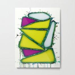 Yellow sail Metal Print