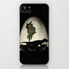 A nightmare is born. iPhone Case