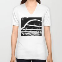 carousel V-neck T-shirts featuring carousel by studiomarshallarts
