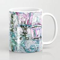 the lights Mugs featuring lights by Oksana Ivanenko