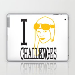 I __ Challenges Laptop & iPad Skin