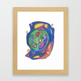 Drawing #48 Framed Art Print