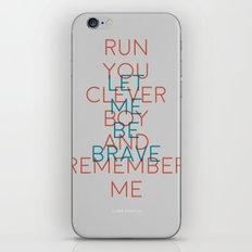 Clara Oswald iPhone & iPod Skin