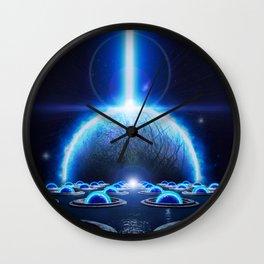 The Ocean's Edge Wall Clock