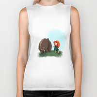 merida Biker Tanks featuring Merida by Lenore2411