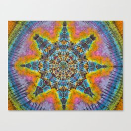Psychedelic Tie Dye Canvas Print
