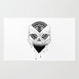 Enigmatic Skull Rug