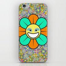 SUPER FLOWER POWER iPhone & iPod Skin
