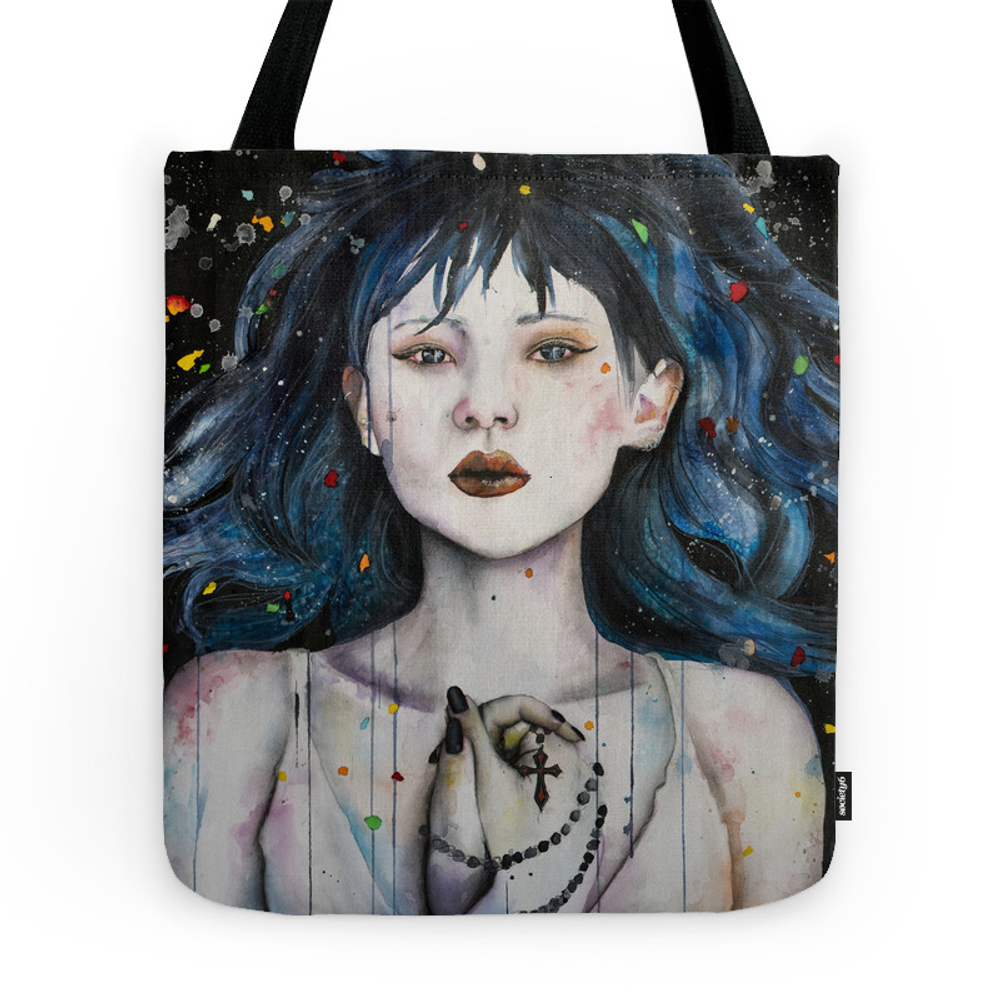 Be the Light in My Darkness Tote Purse by victoriaolt (TBG7876933) photo