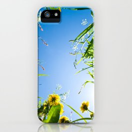 Sunny Summer iPhone Case
