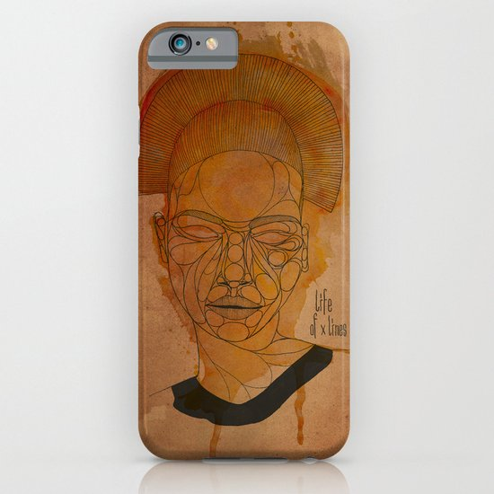The woman with the black necklace iPhone & iPod Case