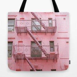 Pink Soho NYC Tote Bag