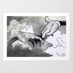 Emergency Rescue Art Print