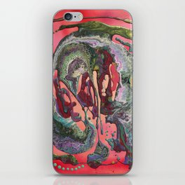 Abstract flow #2 iPhone Skin
