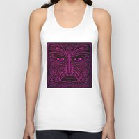 maori Tank Tops featuring Maori style 02 by Alexis Bacci Leveille
