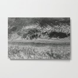 Abstraction #3 // Topsail Island, NC Metal Print