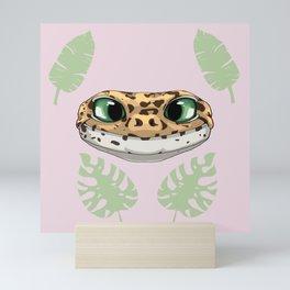 Summer Leopard Gecko Mini Art Print