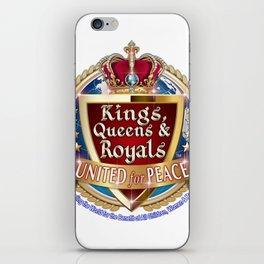 Kings, Queens & Royals United iPhone Skin