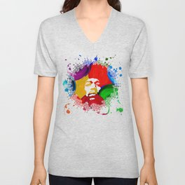 JIMI0402_water color Unisex V-Neck