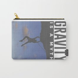 Gravity Is A Myth Rock Wall Climbing Carry-All Pouch