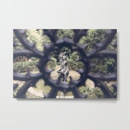 Savannah Garden Nymph Metal Print