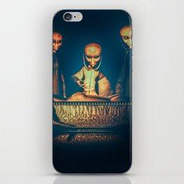 Alien Abduction Alien Autopsy iPhone Skin