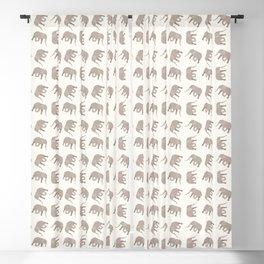 Simple Elephant Blackout Curtain