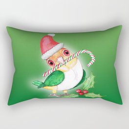 Caique Christmas style Rectangular Pillow