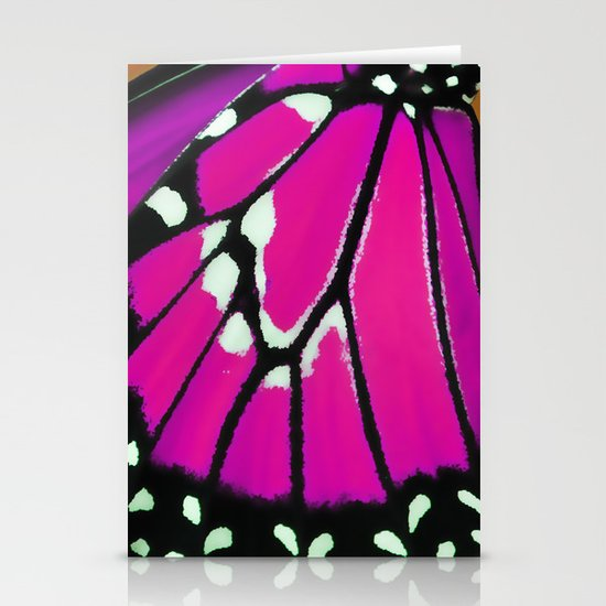 Butterfly wing Stationery Cards