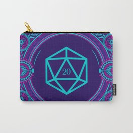 Cyberpunk Critical Hit D20 Dice Tabletop RPG Gaming Carry-All Pouch